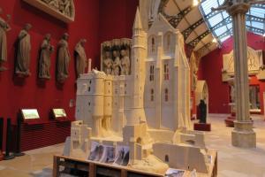 Maquette Mont Saint Michel Cite Archi
